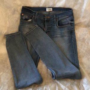 Hudson midriise super skinny jeans